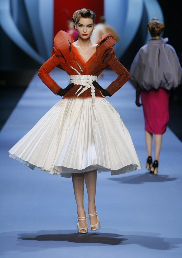 fashion week christian dior 2011 spring summer
