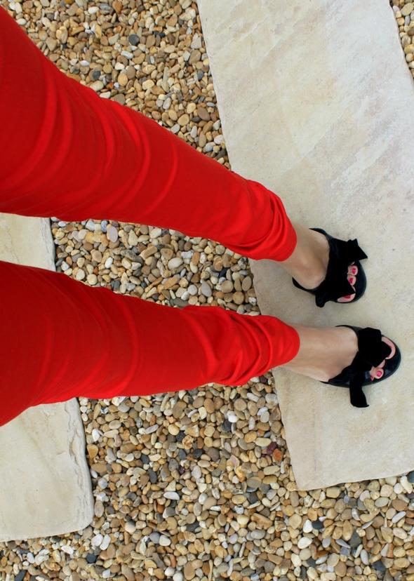 slim rouge vero moda