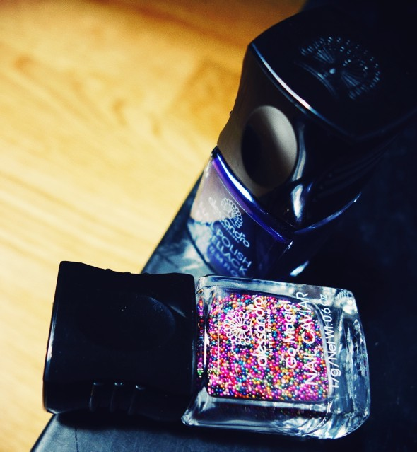 caviar nail polish multicolor_effected