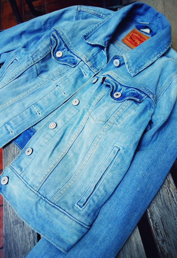 _levi's denim jacket veste jean levis 2013_effected