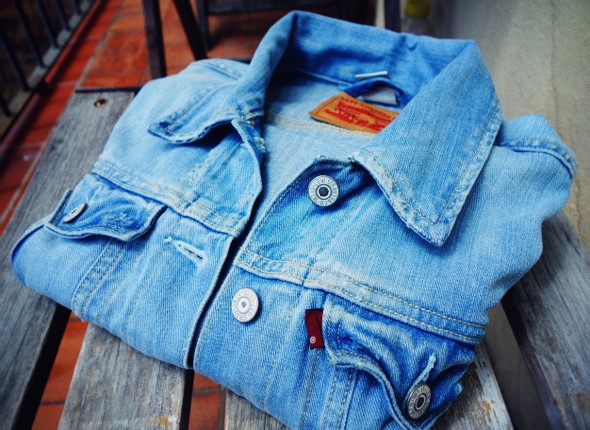 --levi's denim jacket veste jean levis 2013_effected