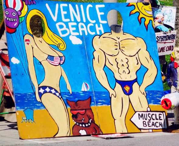 venice beach_effected