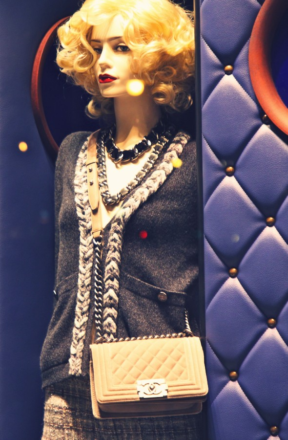 _Chanel luxe luxury collection 2013 fall winter automne hiver sac bag clothing fashion mode_effected