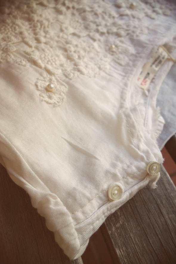blouse blusa zara kids women woman white pearls broderie brodée 2013 2014 fall winter.jpg_effected