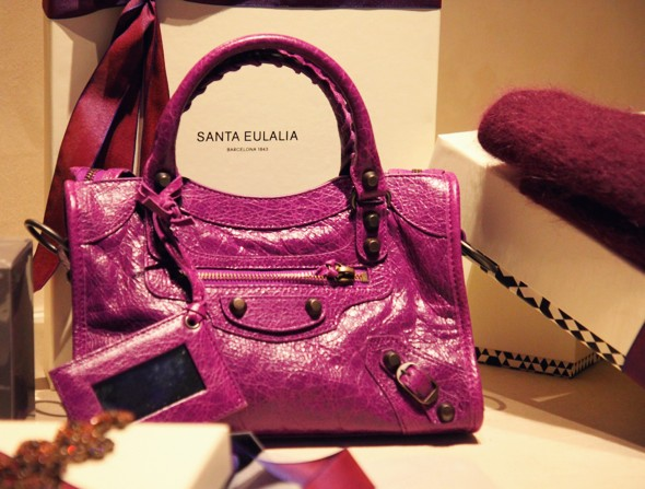 balenciaga mini bag pink _effected