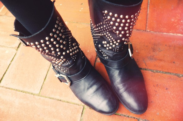 -zara studs boots_effected